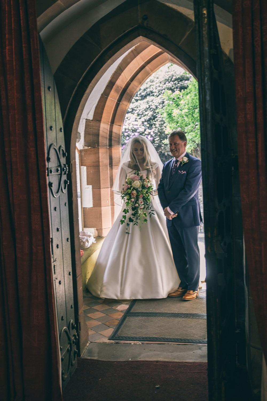 Pronovias For A Secret Garden Wedding In Cheshire