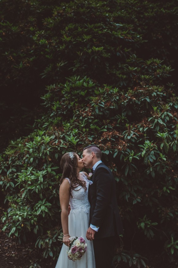 love & laughter. a dusky pink wedding at the walled garden marquee – lisa & chris