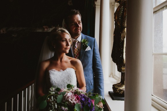 roses & romance. mori lee for a vintage style wedding at newton hall – holly & ben