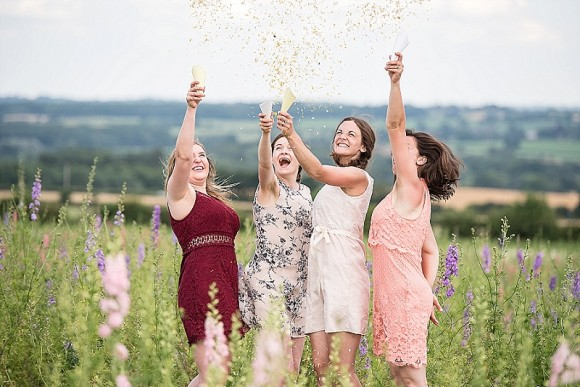 confetti kisses: brighten your big day with shropshire petals