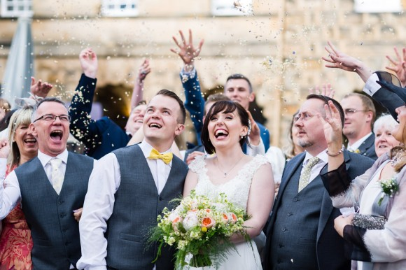 happy ever after. mori lee for a fairytale wedding at chatsworth house – stephanie & nick