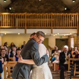 Tracey + Neil's Rustic Spring Wedding at The Ashes in Staffordshire