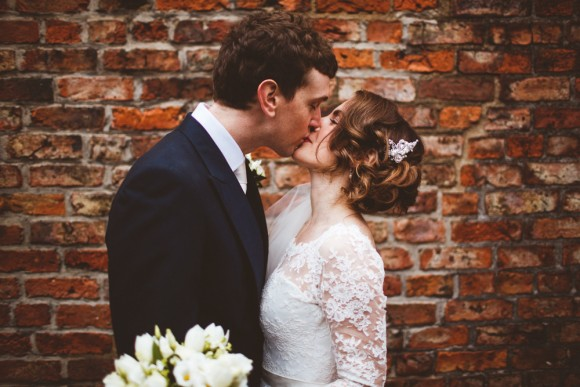 white lace. a winter wedding in york – stacey & alex