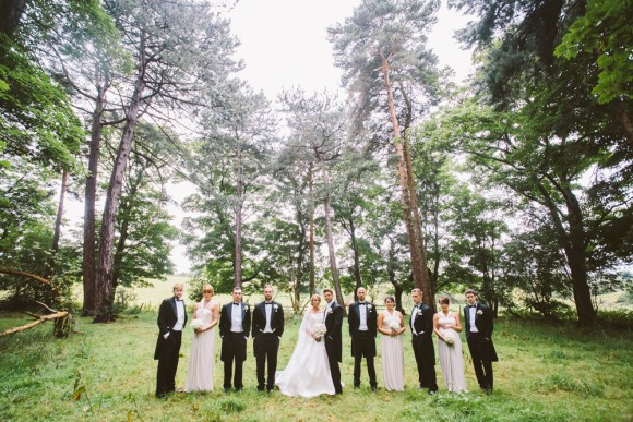 sunshine, showers & champagne. an elegant wedding in the north west – melissa & chris