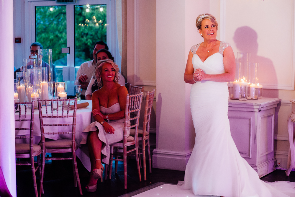 mori lee for a blush pink wedding at ashfield house