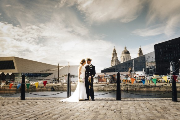 captain's table. justin alexander for an urban wedding at the merseyside maritime museum – beth & will