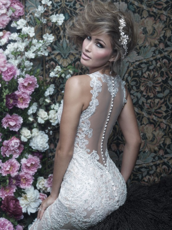 bridal trend alert: the illusion wedding dress
