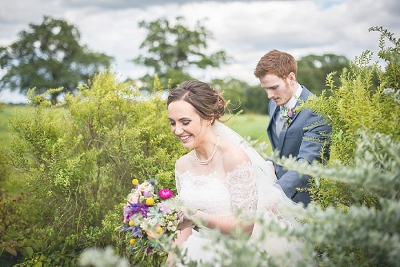 summer bloom. an elegant country wedding at rookery hall – charlotte & tom