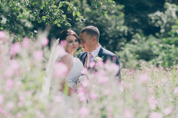 a little blush. justin alexander for an elegant wedding at seaham hall – kirsty & ryan