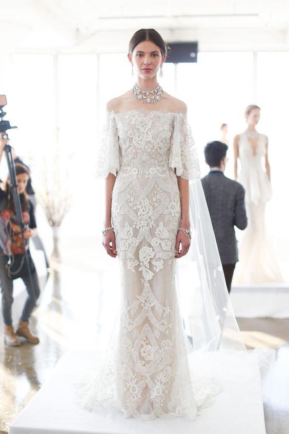 lookbook: bardot bride
