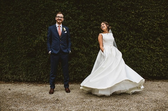 one pretty party. caroline castigliano for a navy & copper wedding at middleton lodge – laura & andrew
