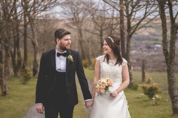 The White Hart, Saddleworth, Glossop Wedding Photographer - Claire Basiuk Photography - Mr + Mrs Booth