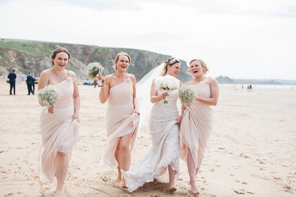 muted magic. a beautiful & breezy destination wedding in cornwall – stephanie & stephen