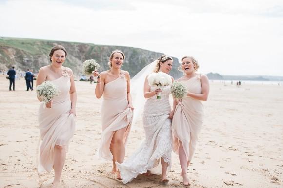 muted magic. a beautiful & breezy destination wedding in cornwall – stephanie & stephen