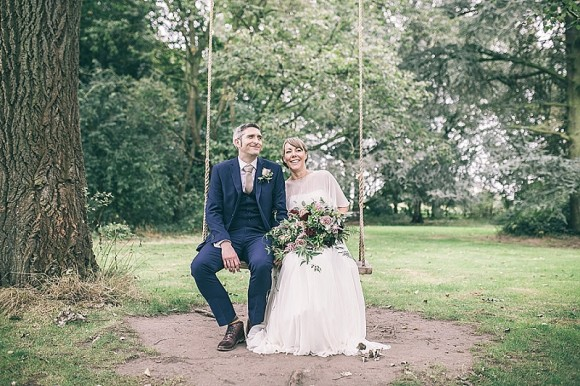 botanical beauty. jenny packham for a natural wedding at trafford hall – sarah & matt