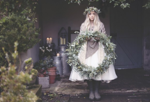 winter hygge: a rustic wedding styled shoot in yorkshire