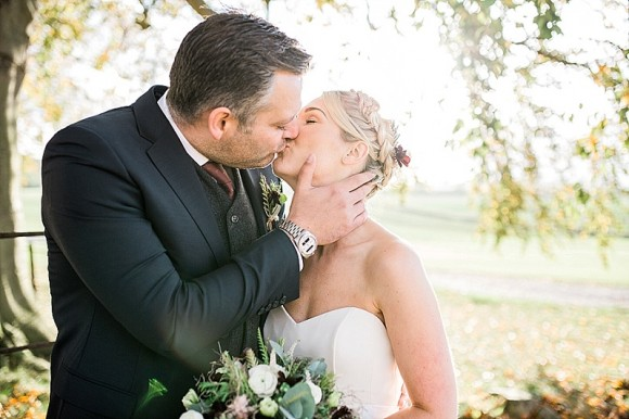 love hearts. caroline castigliano for a relaxed wedding at priory cottages – rebecca & david