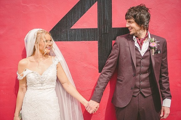 fairy lights & flamingoes. a magical wedding at as you like it in newcastle – jess & stephen
