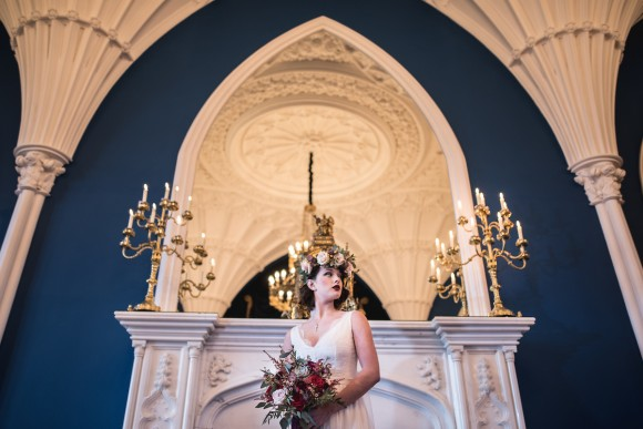 for the stars. a styled bridal shoot at allerton castle