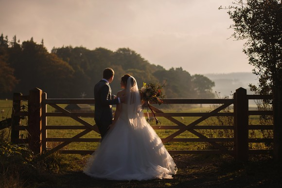 very berry. a glorious woodland wedding at healey barn – emma & ben