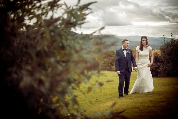 autumn glory. allure bridals & cosy vibes for a lake district wedding – caroline & scott