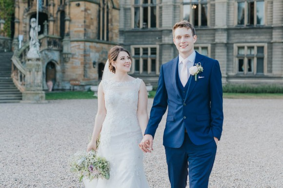 downton decadence. an english country garden wedding at carlton towers – natasha & matthew