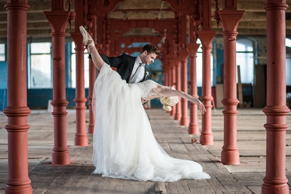 ballerina dreams. a styled bridal shoot at dalton mills