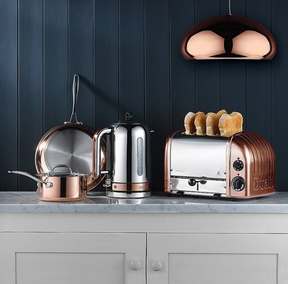 Classic Dualit in Copper at The Wedding Shop from £129