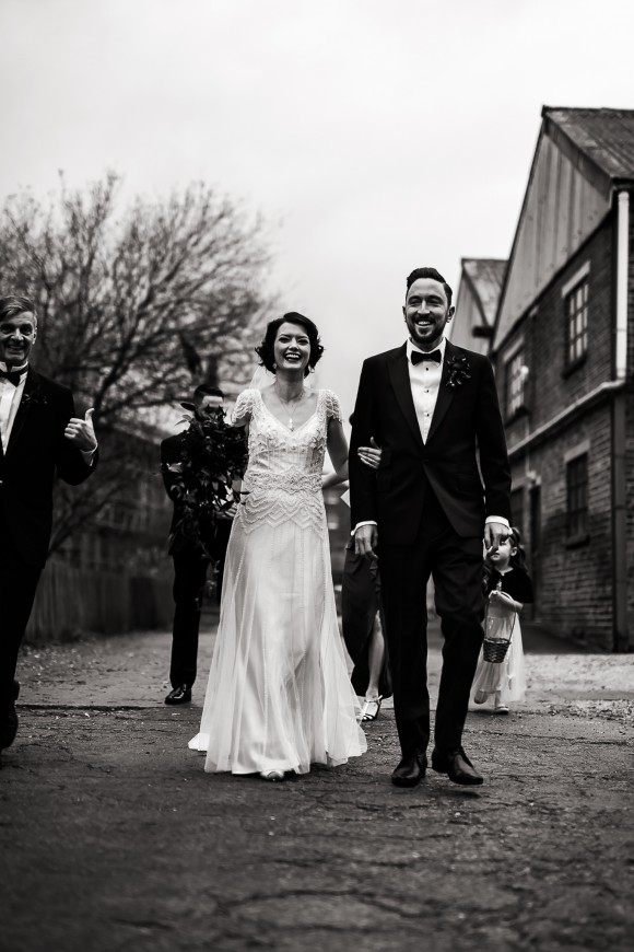 real wedding recap summer 2017: a 1920s style wedding at kelham island museum, sheffield – sara & ryan