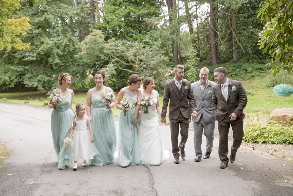 mint condition. vintage-inspired pretty for a wedding at whirlowbrook hall – sarah & tim