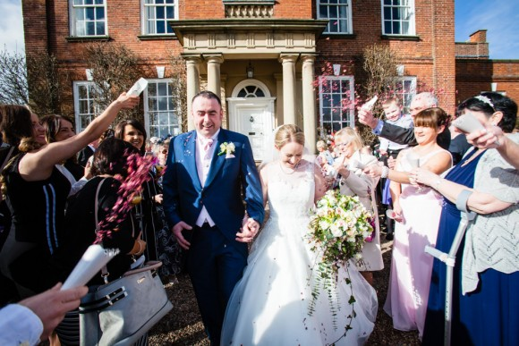 blossom & confetti. a winter wedding at iscoyd park – emma & andrew