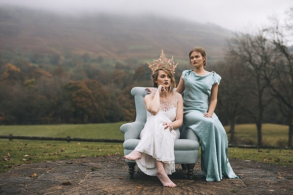 fine romance. a luxurious styled wedding inspiration shoot in the peak district