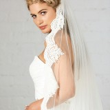French Lace Veil