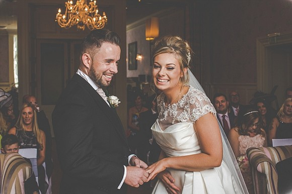 romance & roses. a pink & black theme for a glamorous lake district wedding – robyn & matt