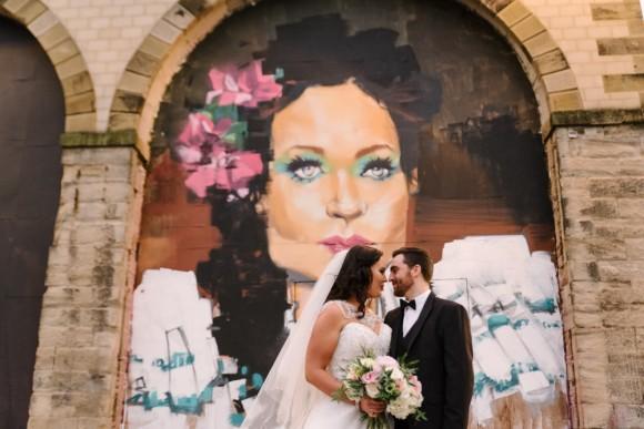 shine bright. alfred angelo for a sparkling city centre wedding in newcastle – nicola & scott