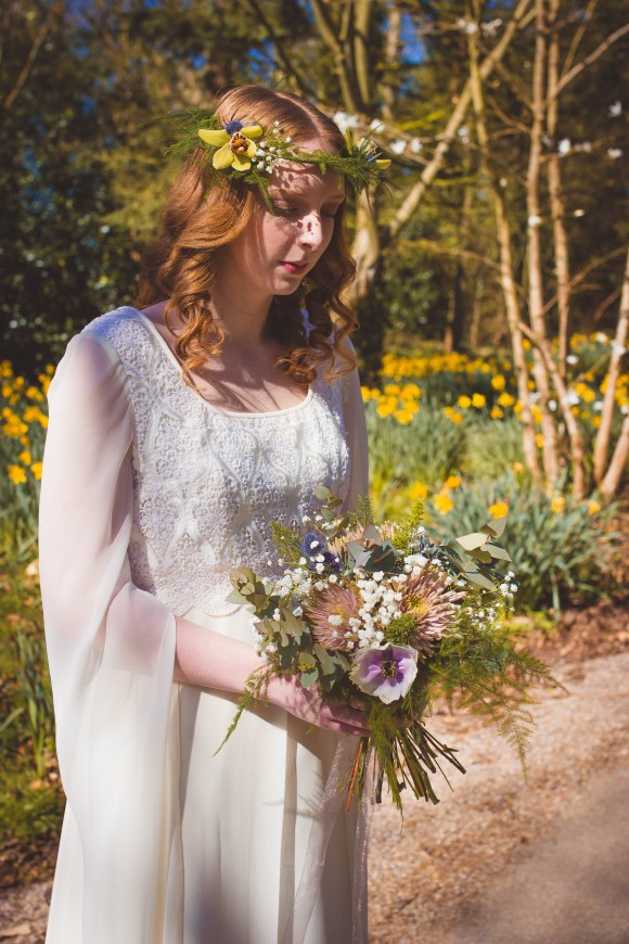 A Retro Bridal Shoot by Sophie Kerr Photography (3)