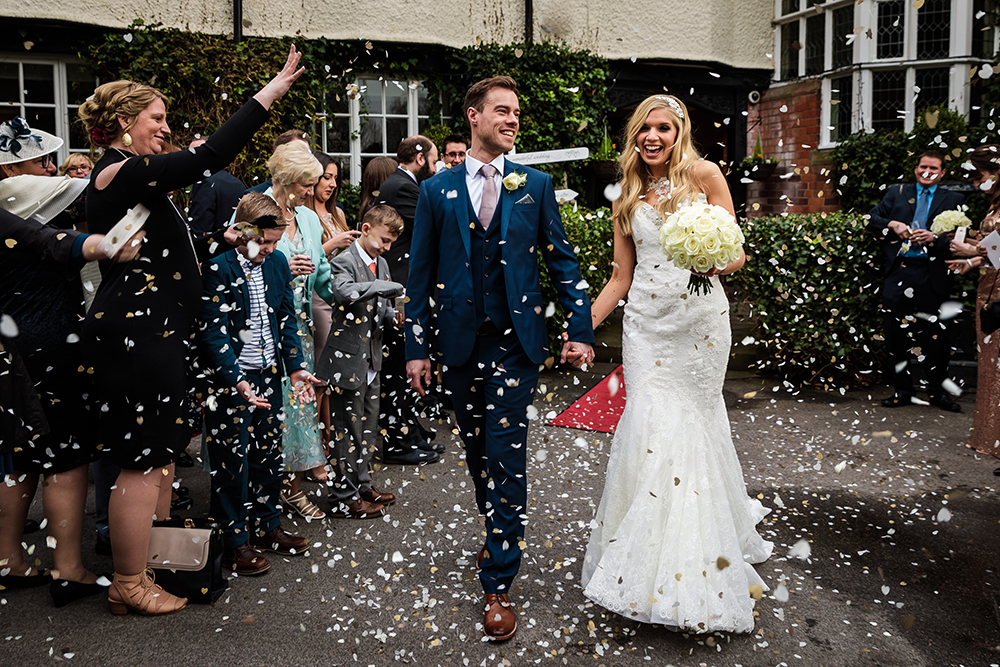 Cheshire winter wedding