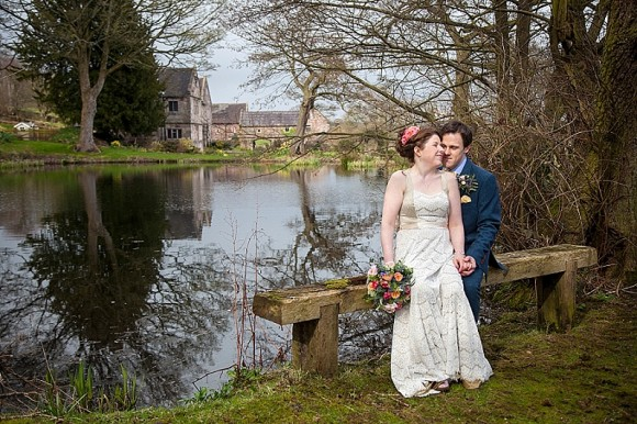polka dots & petals. a bespoke gown for a relaxed wedding at the ashes – alexe & declan