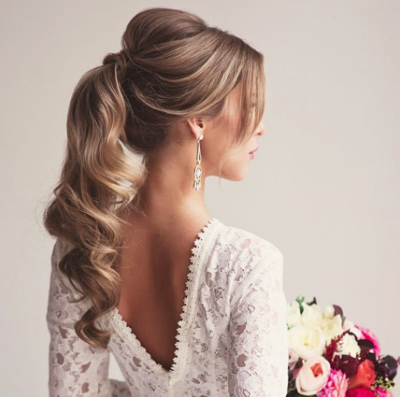 the only way is up: wedding hair inspiration