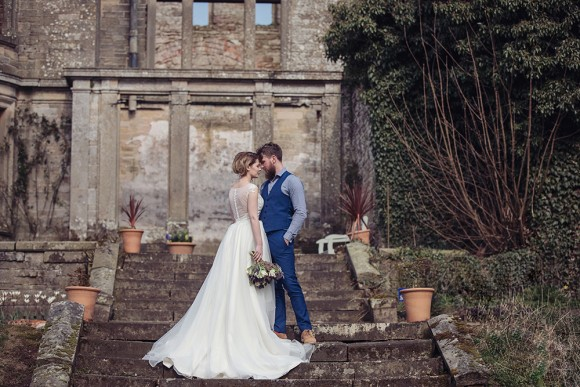 A Chic Elopement Shoot at Kirklinton Hall (c) Tiree Dawson (22)