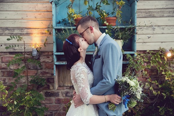 true blue. house of mooshki for a diy wedding in the north east – emma & rob