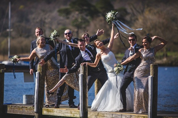 you belong with me. mori Lee for a gatsby-inspired wedding at in the lakes – lauren & ash