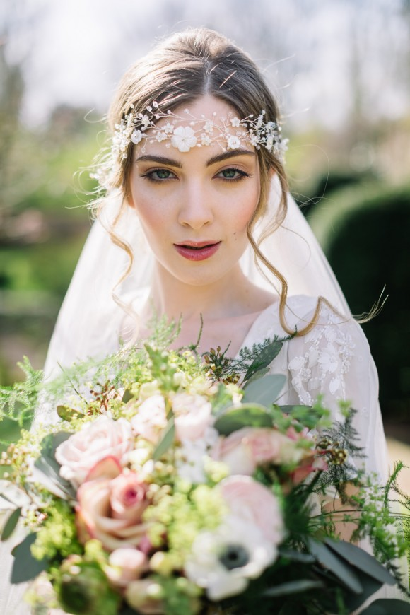 bloomsbury bride. a dreamy 1920's styled shoot at saltmarshe hall