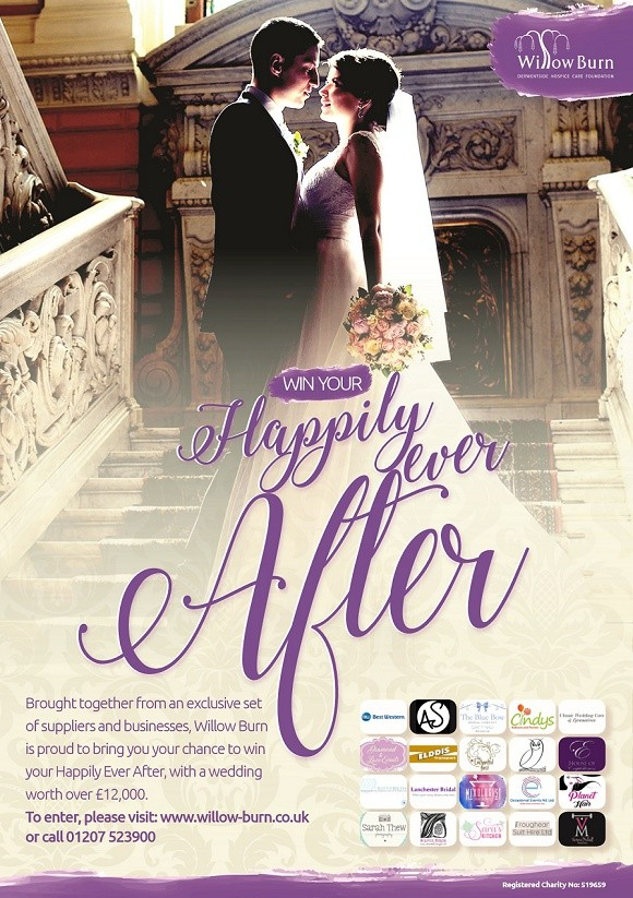 win your happily ever after & support willow burn hospice