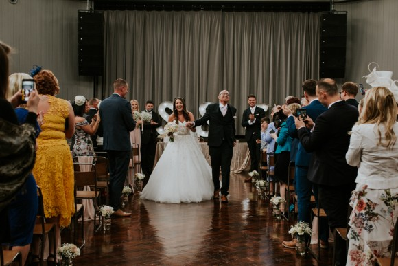 real wedding recap 2017: a stylish wedding at wylam brewery – chelsea & steven