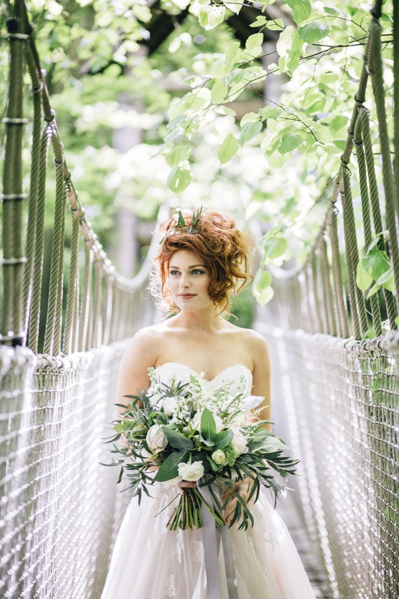 midsummer magic: a wild woodland-styled shoot at alnwick garden