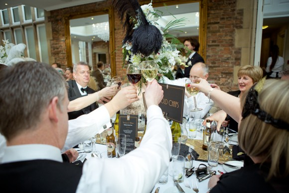A Gatsby Themed Wedding at Goldsborough Hall (c) Todd & Moore (52)