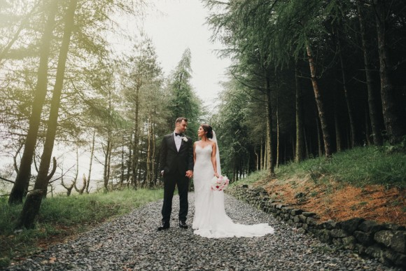 roses & gold. enzoani for a sophisticated wedding in oldham – philippa & kallum