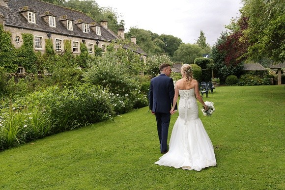 cotswolds class. mori lee for an elegant wedding at the swan hotel – becky & lee