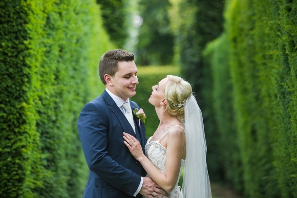 love on top. enzoani for an elegant & inspiring wedding at headlam hall – charlotte & jonathan